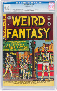 Weird Fantasy #6 Gaines File Pedigree 5/12 (EC, 1951) CGC NM/MT 9.8 Off-white to white pages