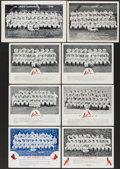 Baseball Collectibles:Photos, 1946-53 St. Louis Cardinals Team Photographs Lot of 8 from The EnosSlaughter Collection....