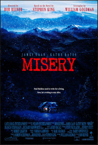"Misery & Other Lot (Columbia, 1990). Rolled, Very Fine+. One Sheets (3) (26.75"" X 39.75"" & 27&..."