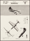 Movie Posters:War, WWII Aircraft Recognition Posters (U.S. Naval Aviation Training Division, 1943). Rolled, Very Fine-. Recognition Posters (3)... (Total: 3 Items)