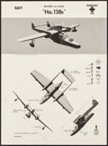 Movie Posters:War, WWII Aircraft Recognition Posters (U.S. Naval Aviation Training Division, 1942-1943). Rolled, Very Fine. Recognition Posters... (Total: 3 Items)