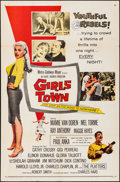 """Movie Posters:Bad Girl, Girls Town (MGM, 1959). Folded, Very Fine-. One Sheet (27"""" X 41""""). Bad Girl.. ..."""