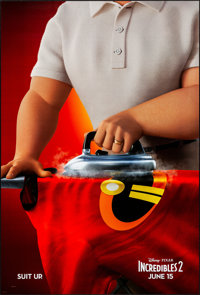 "Incredibles 2 (Walt Disney Studios, 2018). Rolled, Very Fine/Near Mint. One Sheet (27"" X 40"") DS, Advance. Ani..."