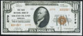National Bank Notes:Nebraska, Grand Island, NE - $10 1929 Ty. 2 The First NB Ch. # 2779 Extremely Fine.. ...