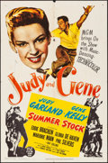 """Movie Posters:Musical, Summer Stock (MGM, 1950). Folded, Fine/Very Fine. One Sheet (27"""" X 41""""). Musical.. ..."""