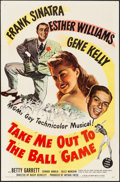 "Movie Posters:Musical, Take Me Out to the Ball Game (MGM, 1949). Folded, Very Fine-. One Sheet (27"" X 41""). Musical.. ..."