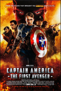 """Captain America: The First Avenger (Paramount, 2011). Rolled, Very Fine/Near Mint. One Sheet (27"""" X 40"""") DS, A..."""