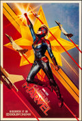 """Movie Posters:Action, Captain Marvel (Walt Disney Studios, 2019). Rolled, Very Fine/Near Mint. One Sheet (26.75"""" X 39.75"""") DS, Teaser. Action.. ..."""