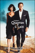 """Movie Posters:James Bond, Quantum of Solace (MGM, 2008). Rolled, Near Mint. One Sheet (26.75"""" X 39.75"""") DS Advance. James Bond.. ..."""