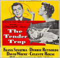 """Movie Posters:Comedy, The Tender Trap (MGM, 1955). Folded, Very Fine-. Six Sheet (80.25"""" X 78.25""""). Comedy.. ..."""