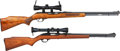 Long Guns:Semiautomatic, Lot of Two Semi-Automatic Rifles.. ... (Total: 2 Items)