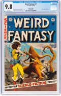 Golden Age (1938-1955):Science Fiction, Weird Fantasy #21 Gaines File Pedigree 2/12 (EC, 1953) CGC NM/MT9.8 White pages....