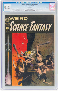 Weird Science-Fantasy #29 Gaines File Pedigree 5/12 (EC, 1955) CGC NM 9.4 White pages