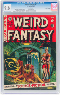 Weird Fantasy #8 Gaines File Pedigree (EC, 1951) CGC NM+ 9.6 White pages