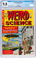Golden Age (1938-1955):Science Fiction, Weird Science #13 (#2) Gaines File Pedigree 7/10 (EC, 1950) CGCNM/MT 9.8 Off-white to white pages....