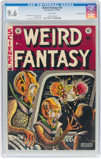 Weird Fantasy #16 Gaines File Pedigree 7/12 (EC, 1952) CGC NM+ 9.6 White pages