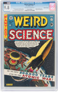 Golden Age (1938-1955):Science Fiction, Weird Science #5 Gaines File Pedigree 10/10 (EC, 1951) CGC NM/MT9.8 Off-white to white pages....
