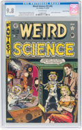 Golden Age (1938-1955):Science Fiction, Weird Science #15 (#4) Gaines File Pedigree (EC, 1950) CGC NM/MT 9.8 Off-white pages....