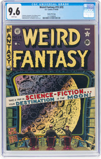Weird Fantasy #15 (#3) Gaines File Pedigree (EC, 1950) CGC NM+ 9.6 White pages