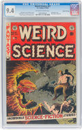 Golden Age (1938-1955):Science Fiction, Weird Science #21 Gaines File Pedigree 5/11 (EC, 1953) CGC NM 9.4 Off-white to white pages....