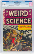 Golden Age (1938-1955):Science Fiction, Weird Science #17 Gaines File Pedigree 5/9 (EC, 1953) CGC NM 9.4Off-white to white pages....