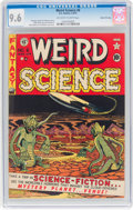 Golden Age (1938-1955):Science Fiction, Weird Science #6 Gaines File Pedigree 1/10 (EC, 1951) CGC NM+ 9.6Off-white to white pages....