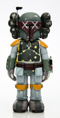 Collectible:Contemporary, KAWS X Lucas Films. Boba Fett, 2013. Painted cast vinyl. 9-3/4 x 4-5/8 x 3-3/4 inches (24.8 x 11.7 x 9.5 cm). Stamped to...