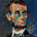 Prints & Multiples:Print, LeRoy Neiman (1921-2012). Lincoln, c. 1968. Serigraph in colors on paper. 24 x 24 inches (61 x 61 cm) (sheet). Ed. 42/75...