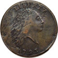 Large Cents, 1793 1C Chain, AMERI., S-1, B-1, R.4--Tooled--PCGS Genuine. VF Details....