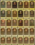 Baseball Collectibles:Others, Massive Collection of Signed Hall of Fame Plaque Postcards (500+) from the Enos Slaughter Collection....