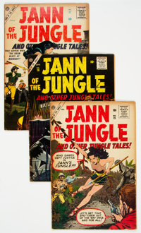 Jann of the Jungle #15, 16, and 17 Group (Atlas, 1957).... (Total: 3 )