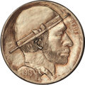 "Hobo Nickels, 1913 Type One Original Hobo Nickel by ""Bert.""..."