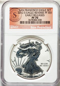 2012-S $1 Reverse Proof Silver Eagle, Early Releases PR70 NGC. NGC Census: (0). PCGS Population: (1534)