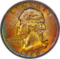 Washington Quarters, 1960-D 25C MS67 PCGS. CAC....