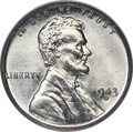 Lincoln Cents, 1943-D 1C MS68 PCGS. CAC....