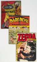 Golden Age (1938-1955):Miscellaneous, Golden Age Comics Group of 5 (Various Publishers, 1941-48).... (Total: 5 )