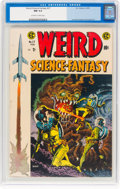 Golden Age (1938-1955):Science Fiction, Weird Science-Fantasy #27 (EC, 1955) CGC NM 9.4 Off-white to white pages....