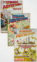 Silver Age (1956-1969):Science Fiction, Strange Adventures Group of 9 (DC, 1961-69) Condition: AverageVF.... (Total: 9 Comic Books)