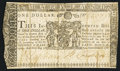 Colonial Notes:Maryland, Maryland January 1, 1767 $1 Very Fine.. ...