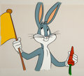 Animation Art:Production Cel, MTV - Bugs Bunny Production Cel (Warner Brothers, c. 1980s). ...