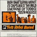 "Movie Posters:Exploitation, This Rebel Breed (Warner Brothers, 1960). Folded, Fine/Very Fine.Six Sheet (80"" X 78.75""). Exploitation.. ..."