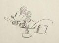 Animation Art:Production Drawing, The Opry House Mickey Mouse Animation Drawing (Walt Disney,1929)....