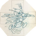 "Animation Art:Concept Art, Hank Porter ""Ant"" World War II Insignia Preliminary Design Art(Walt Disney, c. 1940s)...."