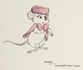 Animation Art:Concept Art, The Rescuers Down Under Miss Bianca Character Design Art Group of 4 (Walt Disney, 1990).... (Total: 4 Original Art)