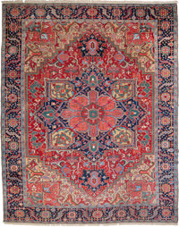 A Heriz Carpet, Northwest Persia, circa 1930 149 x 116-1/2 inches (378.5 x 295.9 cm)