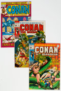 Bronze Age (1970-1979):Adventure, Conan the Barbarian Group of 13 (Marvel, 1971-74) Condition: Average NM.... (Total: 14 )