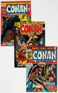 Bronze Age (1970-1979):Adventure, Conan the Barbarian Group of 19 (Marvel, 1971-74) Condition: Average VF+.... (Total: 19 )