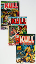 Bronze Age (1970-1979):Superhero, Kull the Conqueror Group of 9 (Marvel, 1971-74) Condition: Average NM.... (Total: 9 )