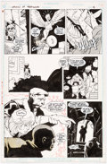 Original Comic Art:Panel Pages, Adam Hughes Team Titans #1 [Redwing Cover] Story Page 15 Original Art (DC, 1992)....