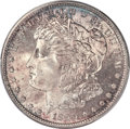 Morgan Dollars, 1890-S $1 MS66+ PCGS. CAC....